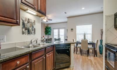 Kitchen, Lookout Hollow Apartments, 0