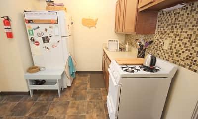 Kitchen, Oakland Apartments, 2