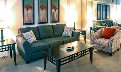 Living Room, Warson Village Towne House Apartments, 0