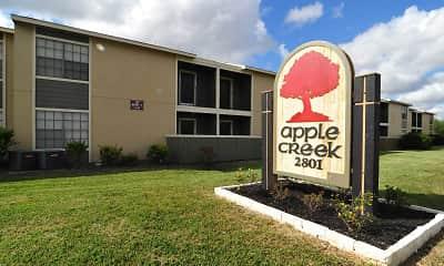Community Signage, Apple Creek Apartments, 2
