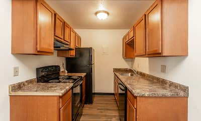 Kitchen, Hickman Flats, 0