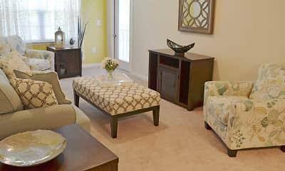 Living Room, Villas at Marlin Bay, 1