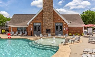 Pool, University Suites Student Apartments, 2