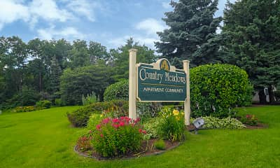Community Signage, Country Meadows Apartments, 2