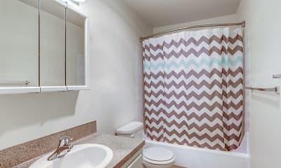 Bathroom, Center Plaza, 2