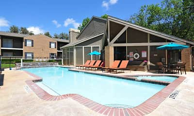 Pool, Deerwood Apartments, 2