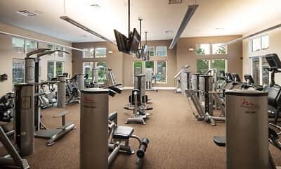 Fitness Weight Room, Broadmoor At Jordan Creek, 2