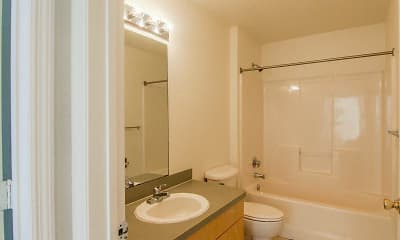 Bathroom, Contemporary Housing Alternatives of Florida, Inc- Northside Group, 2