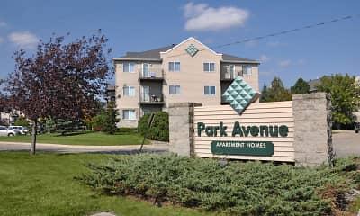Community Signage, Park Avenue Apartments, 1