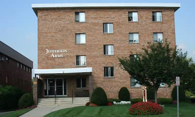 Building, Jefferson Arms Apartments, 1
