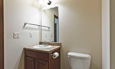 Bathroom, Prairie Springs Apartments, 2