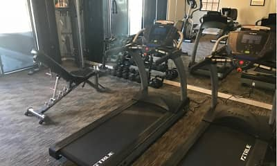 Fitness Weight Room, Spring Haven, 2