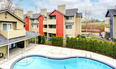 Pool, Cambridge Apartments, 1