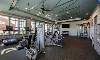Fitness Weight Room, 1274 at Towson, 0