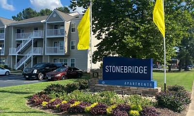 Community Signage, Stonebridge Apartments, 0