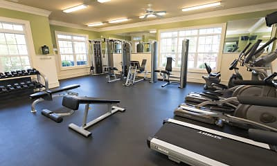 Fitness Weight Room, Stafford Place, 2