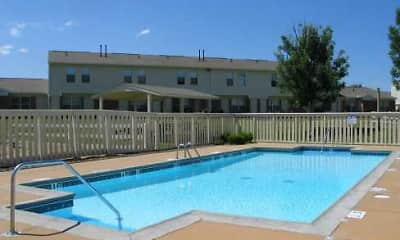 Pool, Country Place Apartments, 0