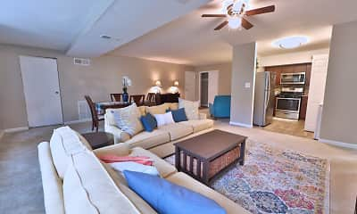 Living Room, The Reserve at Greenspring, 1