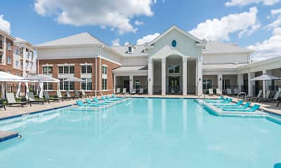 Pool, Silver Collection at Carl D. Silver Parkway, 0