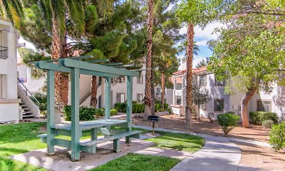 Recreation Area, Ladera Apartments at Green Valley, 2