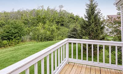 Patio / Deck, Larkin Creek Luxury Apartments, 2