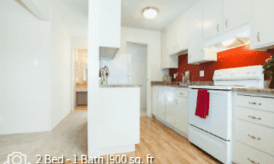Kitchen, Del Coronado Apartments, 2