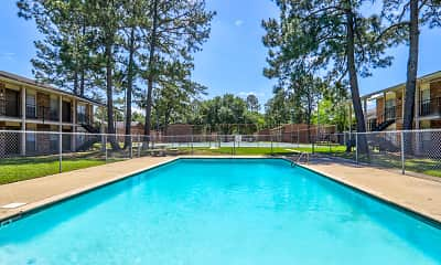 Pool, Fox Hill Apartments, 0