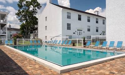 Pool, Williamsburg Village Apartments, 1