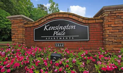 Community Signage, Kensington Place, 1