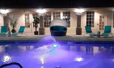 Pool, Soleil, 0