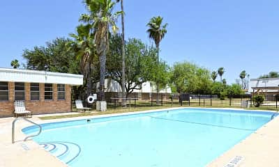 Pool, Jackson Square Apartments, 0