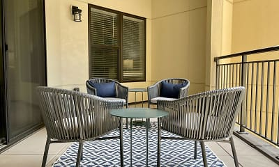 Patio / Deck, RiZe on Grand, 2