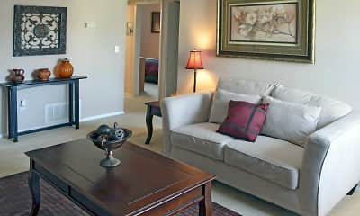 Living Room, Sierra Forest Apartments, 1