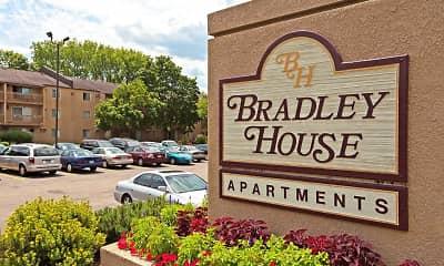 Community Signage, Bradley House Apartments, 2