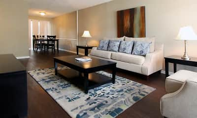 Living Room, Briarwood Apartments, 0