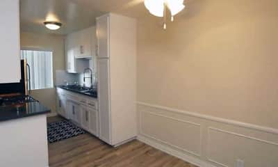 Kitchen, Malibu Apartments, 1