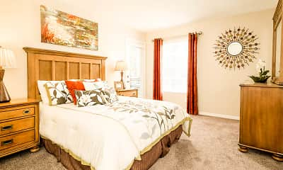 Bedroom, Willowbrooke Apartments, 2