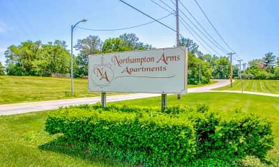 Community Signage, Northampton Arms, 2