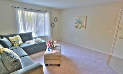 Living Room, Sand Hills, 1