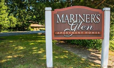 Community Signage, Mariners' Glen Apartment Homes, 2