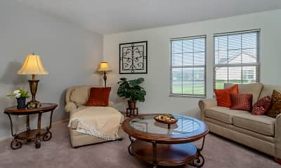 Living Room, Horizon at Hillcrest Apartments, 1