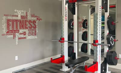 Fitness Weight Room, Sharlands Terrace, 1