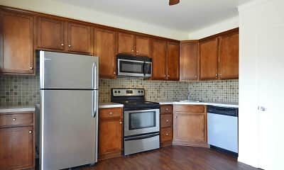Kitchen, York Village Apartments, 0