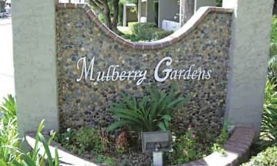 Community Signage, Mulberry Gardens, 0