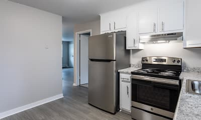 Kitchen, Pine Brook Terrace Apartments, 1