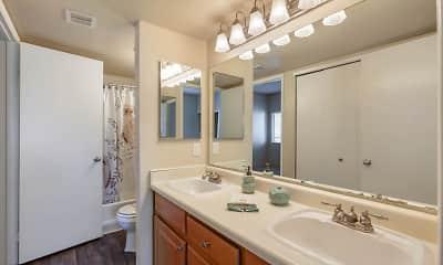 Bathroom, Terra Vida Apartments, 2