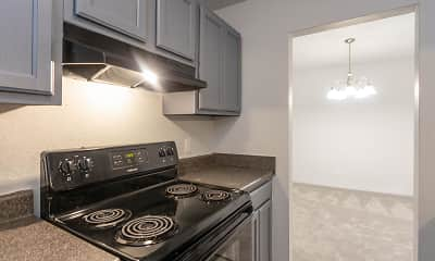 Kitchen, High Pointe Apartments, 1