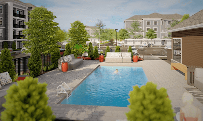 Pool, Now Pre-Leasing! Dunnwood Green, 1