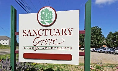 Community Signage, Sanctuary Grove Luxury Apartments, 2