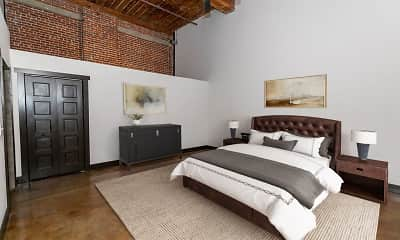 Bedroom, The Lofts at Swift Mill, 2